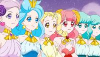 STPC31 The Princesses insist that Fuwa has something to eat