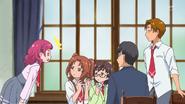 HuPC02.3-Hana casi revela que es Cure Yell frente a sus compañeros