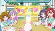 TRPC19 The girls think Manatsu has been acting strange
