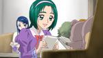 YPC516 Komachi asks Nuts to read her manuscript