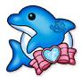 Cure decor delfin