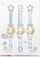 Kirakira candy rod concept