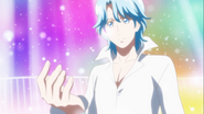 Blue se quedo pensando en Mirage