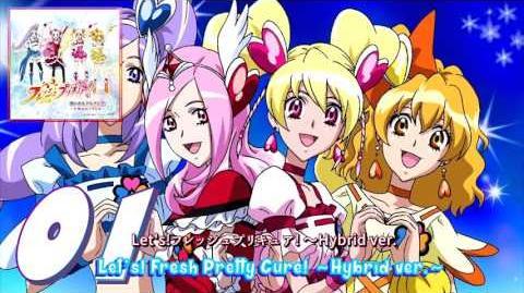 Fresh Pretty Cure! Vocal Album 1 Track01-0