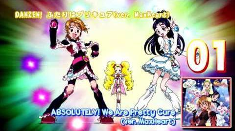 Futari wa Pretty Cure Max♡Heart Vocal Album 1 Track01
