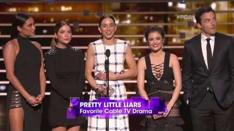 The People's Choice for Favorite Cable TV Drama is Pretty Little Liars