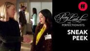 Pretty Little Liars The Perfectionists Episode 8 Sneak Peek Mona Gives Taylor a Warning