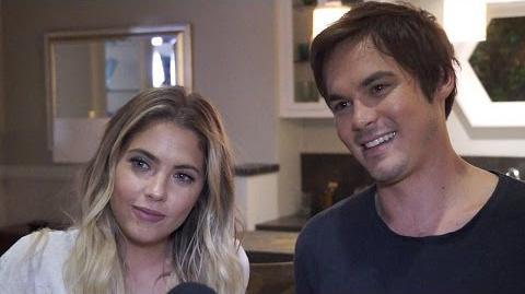'Pretty Little Liars' Ashley Benson & Tyler Blackburn Talk Haleb & Uber A