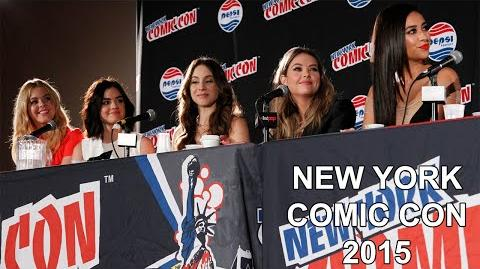 Pretty Little Liars New York Comic Con 2015