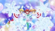 Miracle snow christmas! Happy christmas!