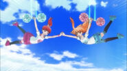 Fly High cheering girls!