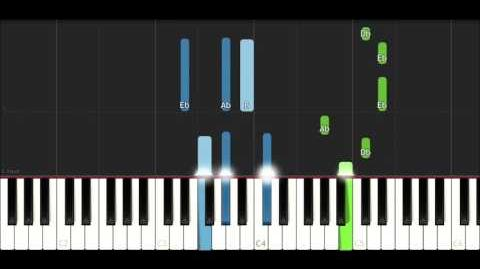 TryHardNinja (PREY SONG) - The Prey (Piano Tutorial)