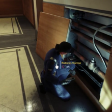 Prey - First Day on the Job- Roof Helicopter Music Sequence, Patricia Varma1.png