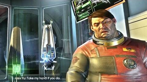 Prey Last Cutscene - Prey End 2017 Porfirios Guarding This Channel