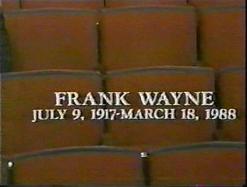 Frank Wayne
