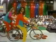 Models on Bikes 1991