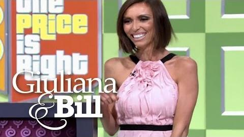 "Giuliana Models for ""The Price Is Right"" Giuliana & Bill E!"