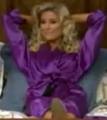 Rachel in Satin Sleepwear-39