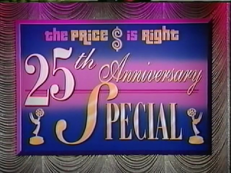 The Price is Right 25th Anniversary Special