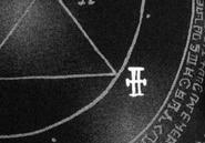 Nameless Angel Black Circle Symbol 001