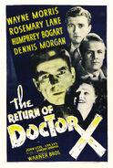 Return of doctor x poster 01