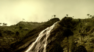 0401CretaceousForestWaterfall