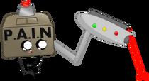P.A.I.N Box's official artwork