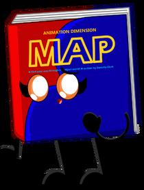 Map's official artwork