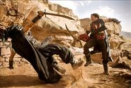 The Prince fighting against a Hassasnsim