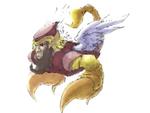 Unused Artwork of Scorpion Man