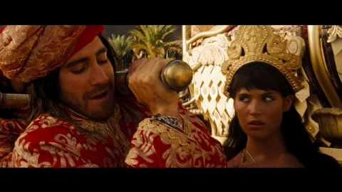 PRINCE OF PERSIA THE SANDS OF TIME featurette - Story - On DVD & Blu-Ray