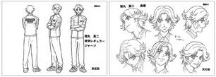 Eiji character design