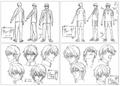 Ryoga character design