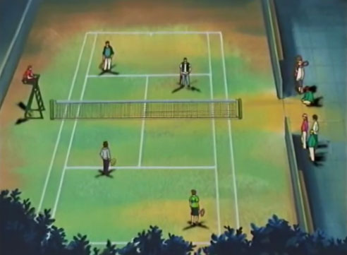 Street Tennis Courts
