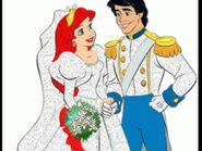 Ariel et Éric à leur mariage