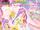 Abcioh12/Laala(with Twinkle Ribbon Cyalume) in Pretty Rhythm's Game