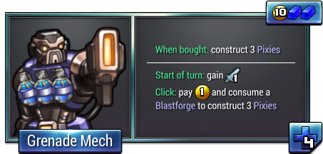 Grenade Mech