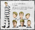 Shingo anime design