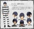 Kiyoshi anime design