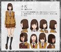 Chiyo anime design