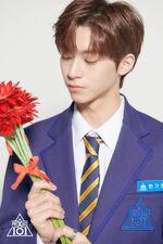 Han Gichan Produce X 101 Promotional 5
