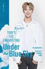Tony Under the Blue Sky Promo 1
