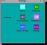 PB-DOS Shell Settings