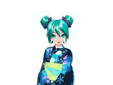 Hatsune Miku Yukata Style