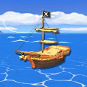 Vista general del barco en Project M