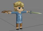 Pose de referencia de Toon Link