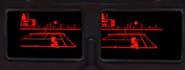 Detalle del visor de R.O.B. con su traje alternativo