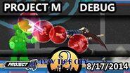 Project M Debug Mode Demonstration