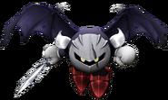 Art del traje alternativo de Meta Knight (Meta Knight oscuro)