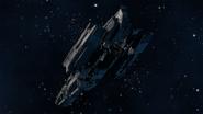 Info-Derelict Freighter